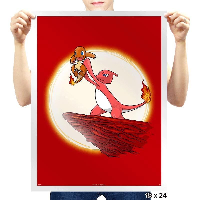 Pokeking - Prints - Posters - RIPT Apparel