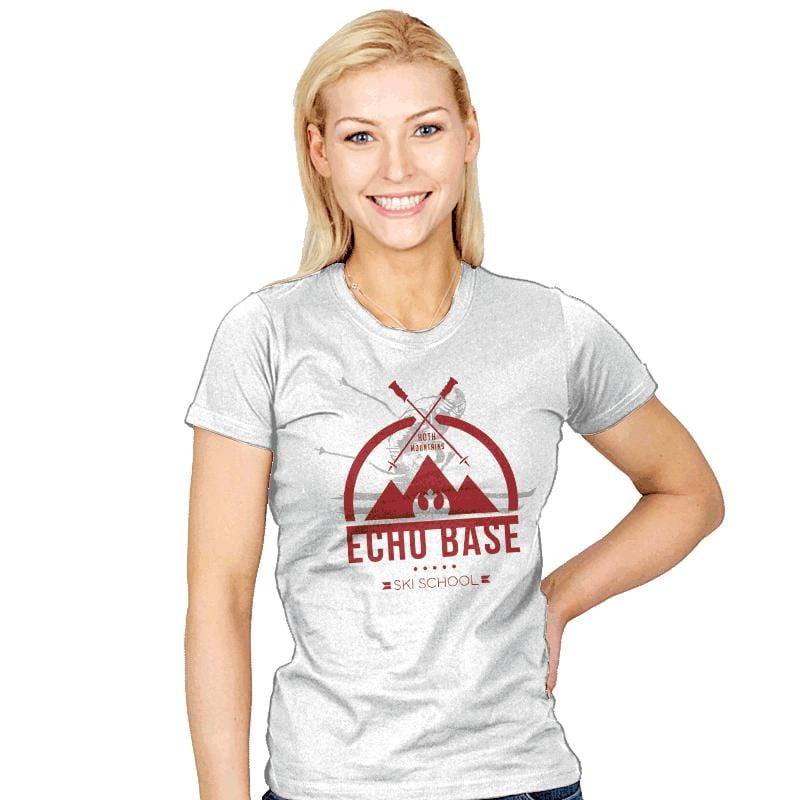 Ski School - Womens - T-Shirts - RIPT Apparel