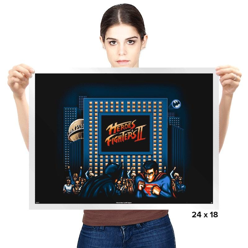 Heroes & Fighters - Prints - Posters - RIPT Apparel