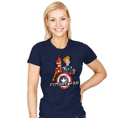 Future War - Womens - T-Shirts - RIPT Apparel