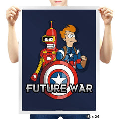 Future War - Prints - Posters - RIPT Apparel