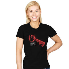 Punch Is Coming - Womens - T-Shirts - RIPT Apparel