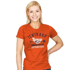 Ichiraku ramen - Womens - T-Shirts - RIPT Apparel