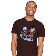 Ash vs Zombies - Mens - T-Shirts - RIPT Apparel