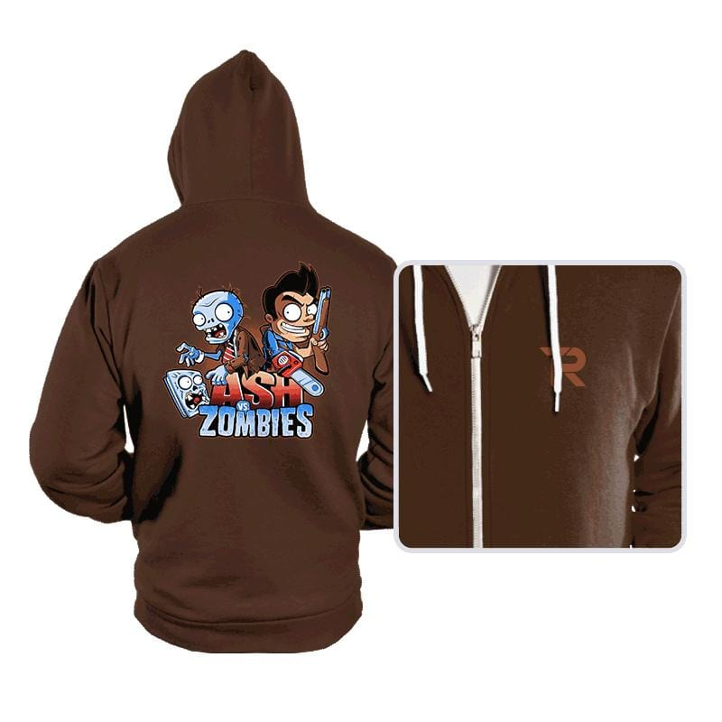 Ash vs Zombies - Hoodies - Hoodies - RIPT Apparel