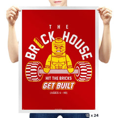 The Brickhouse - Prints - Posters - RIPT Apparel