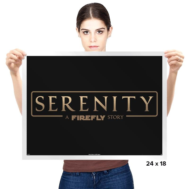 A Firefly Story - Prints - Posters - RIPT Apparel