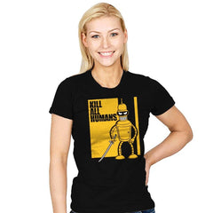 Kill All Humans - Womens - T-Shirts - RIPT Apparel