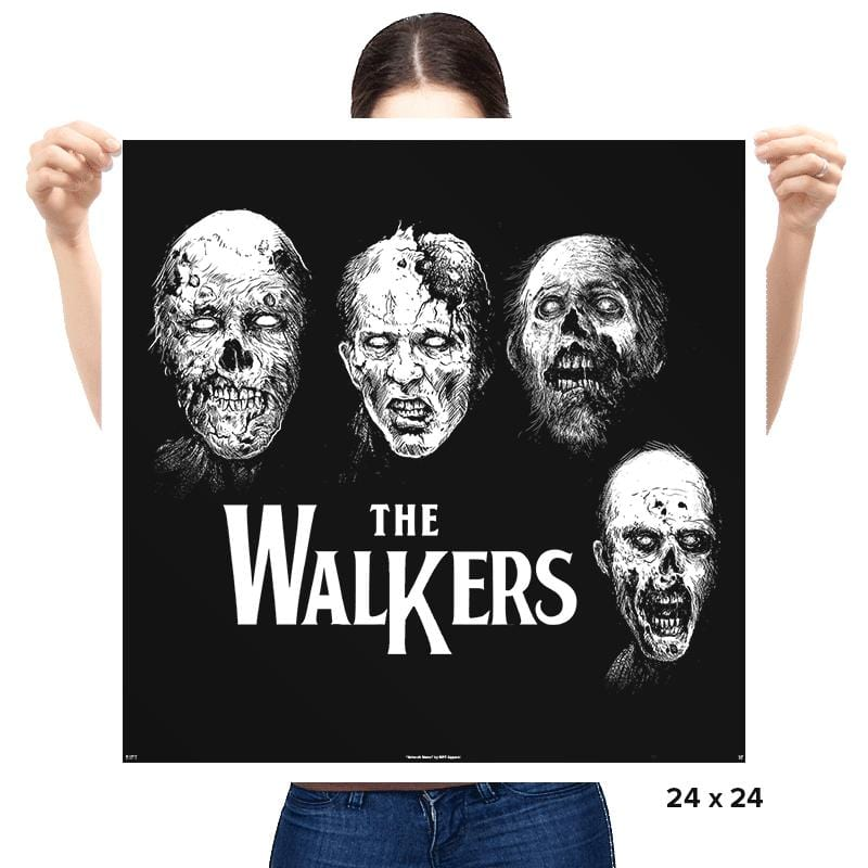 The Walkers - Prints - Posters - RIPT Apparel
