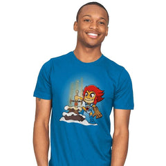 Sword of Omens in the stone - Mens - T-Shirts - RIPT Apparel