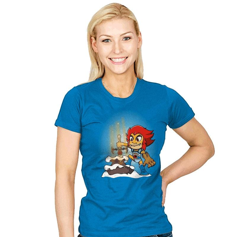 Sword of Omens in the stone - Womens - T-Shirts - RIPT Apparel