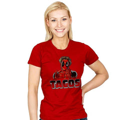 Tacos - Womens - T-Shirts - RIPT Apparel