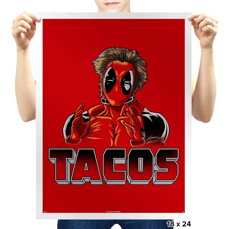 Tacos - Prints - Posters - RIPT Apparel