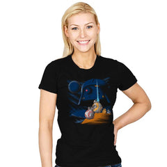 Episode Vll: A New Droid - Womens - T-Shirts - RIPT Apparel