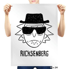 Ricksenberg - Prints - Posters - RIPT Apparel