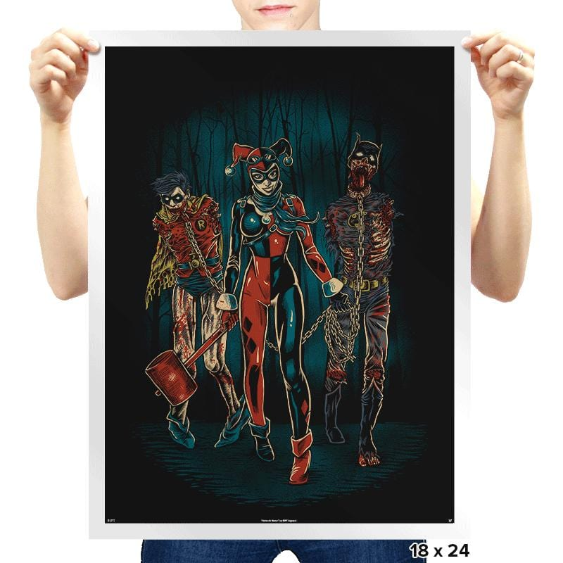 The Walking Caped Crusaders - Prints - Posters - RIPT Apparel