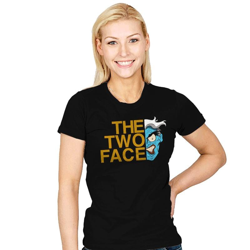 The Two Face - Womens - T-Shirts - RIPT Apparel