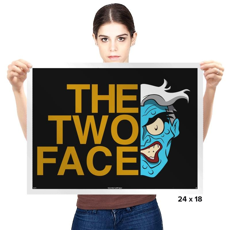 The Two Face - Prints - Posters - RIPT Apparel