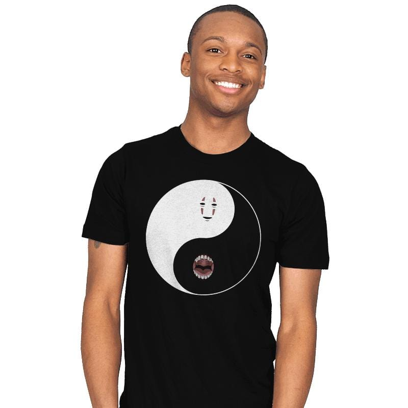 Yin Yang Face - Mens - T-Shirts - RIPT Apparel