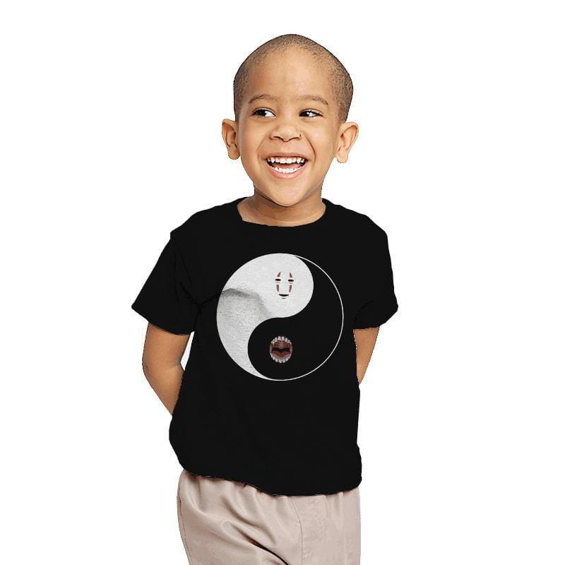 Yin Yang Face - Youth - T-Shirts - RIPT Apparel