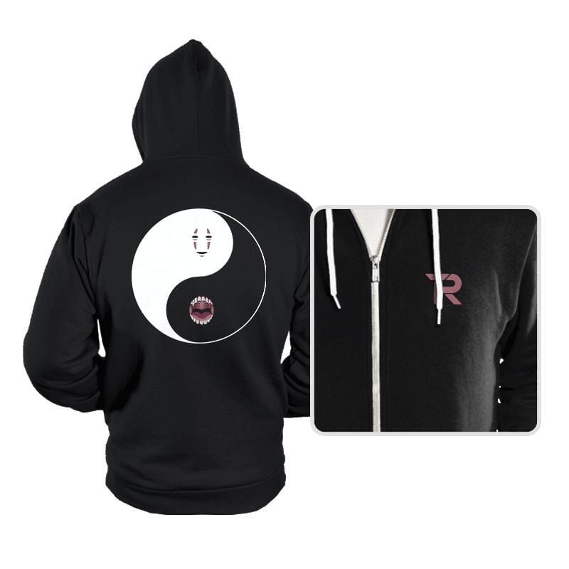Yin Yang Face - Hoodies - Hoodies - RIPT Apparel