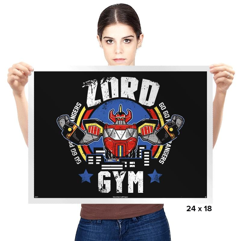 Zord Gym - Prints - Posters - RIPT Apparel