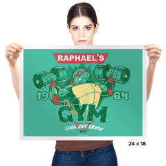 Raphs Gym Exclusive - Prints - Posters - RIPT Apparel