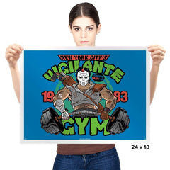 Vigilante Gym Exclusive - Prints - Posters - RIPT Apparel