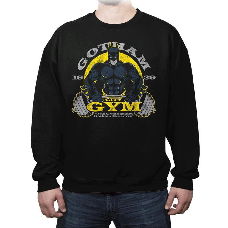 Gotham Gym - Crew Neck - Crew Neck - RIPT Apparel