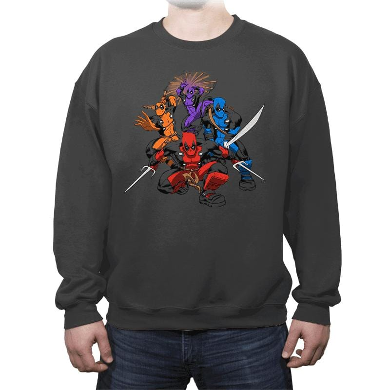 Teenage (Not) Mutant Ninja Deadpools - Crew Neck - Crew Neck - RIPT Apparel