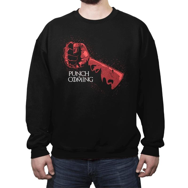 Punch Is Coming - Crew Neck - Crew Neck - RIPT Apparel