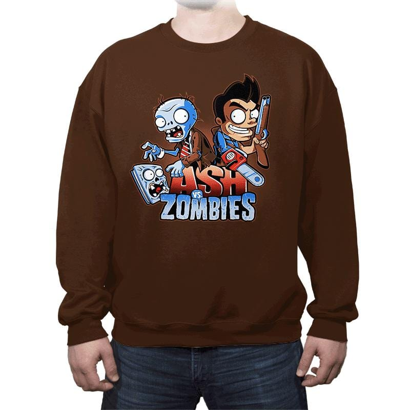 Ash vs Zombies - Crew Neck - Crew Neck - RIPT Apparel