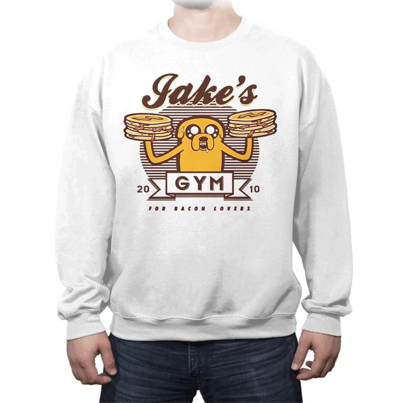 Bacon Lovers Gym - Crew Neck - Crew Neck - RIPT Apparel