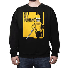 Kill All Humans - Crew Neck - Crew Neck - RIPT Apparel