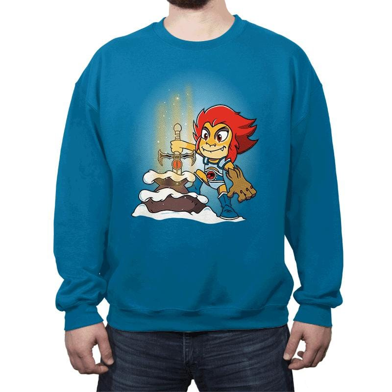 Sword of Omens in the stone - Crew Neck - Crew Neck - RIPT Apparel