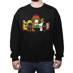 Dogs Playing Poker - Crew Neck - Crew Neck - RIPT Apparel