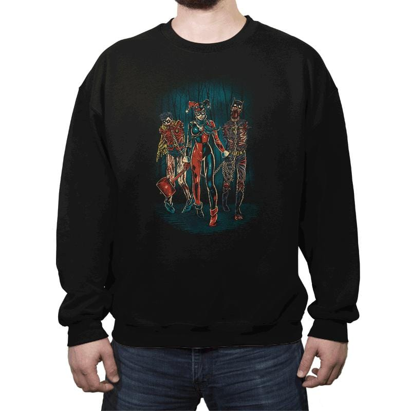 The Walking Caped Crusaders - Crew Neck - Crew Neck - RIPT Apparel