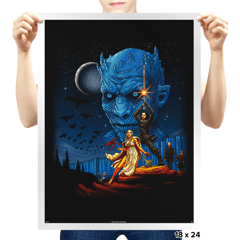 Throne Wars - Prints - Posters - RIPT Apparel