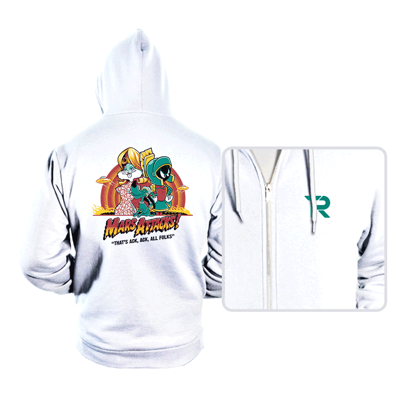 Mars Attacks! - Hoodies - Hoodies - RIPT Apparel