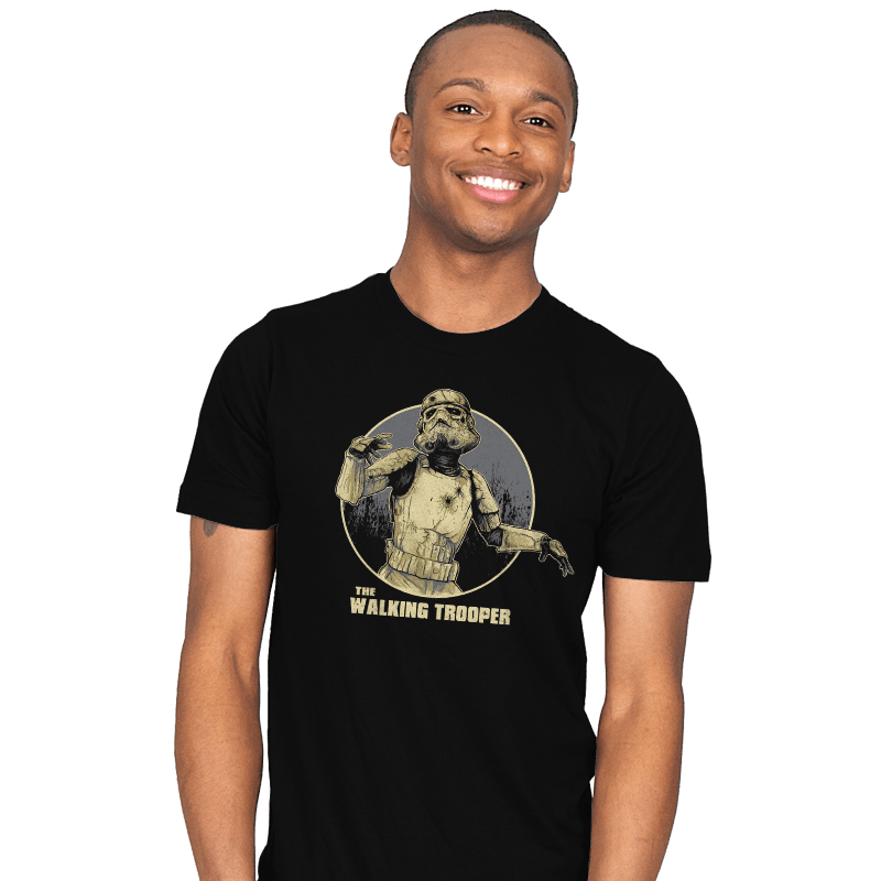 The Walking Trooper - Mens - T-Shirts - RIPT Apparel