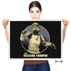 The Walking Trooper - Prints - Posters - RIPT Apparel
