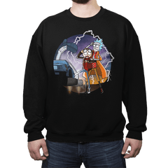 To The Future - Crew Neck - Crew Neck - RIPT Apparel