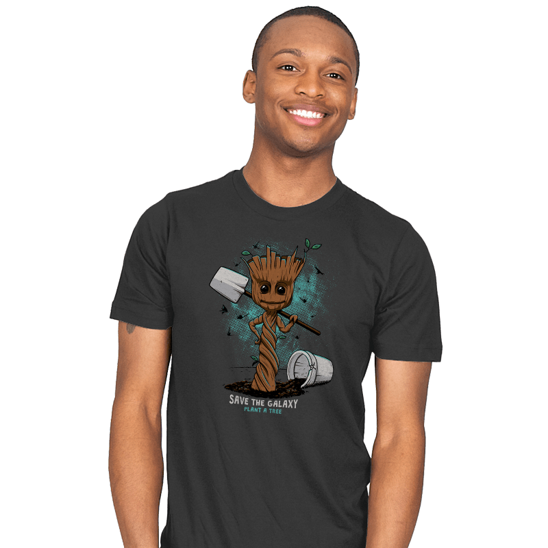 Plant a Tree, Save the Galaxy - Mens - T-Shirts - RIPT Apparel