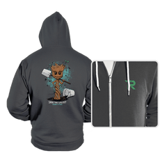 Plant a Tree, Save the Galaxy - Hoodies - Hoodies - RIPT Apparel