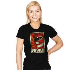 Power! - Womens - T-Shirts - RIPT Apparel