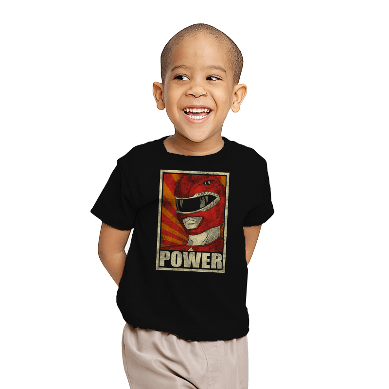 Power! - Youth - T-Shirts - RIPT Apparel