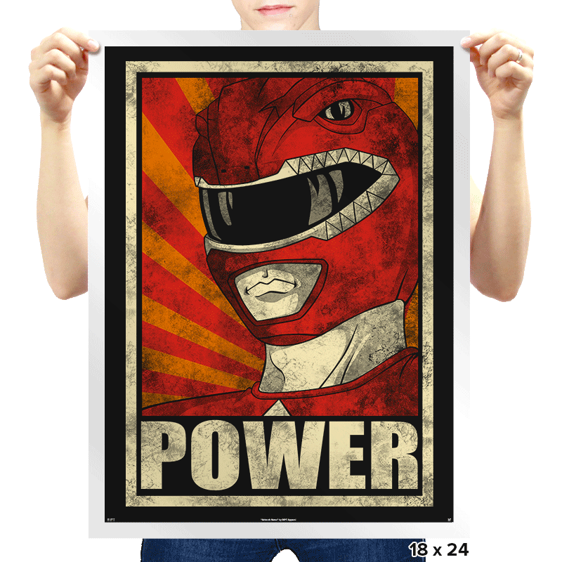 Power! - Prints - Posters - RIPT Apparel