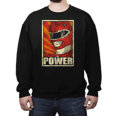 Power! - Crew Neck - Crew Neck - RIPT Apparel