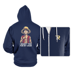 Pirates Want You - Hoodies - Hoodies - RIPT Apparel