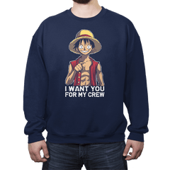 Pirates Want You - Crew Neck - Crew Neck - RIPT Apparel
